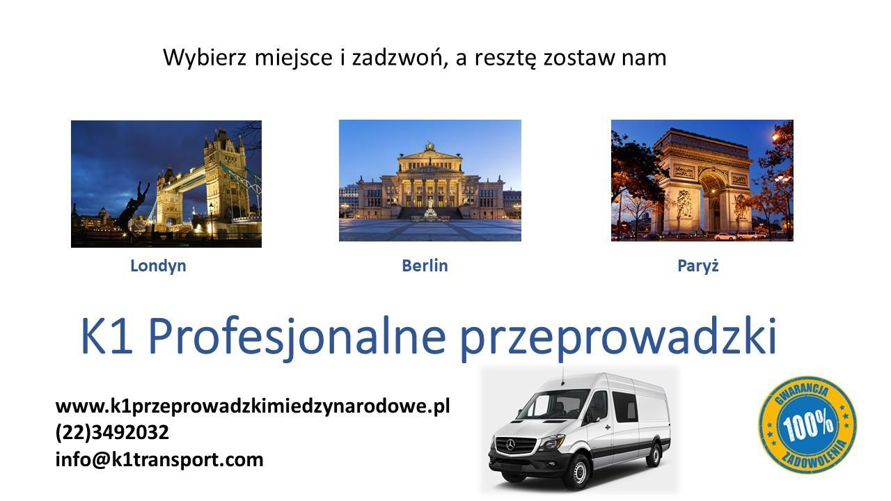 Przeprowadzki z Polski, Warszawy, Poznania, Krakowa do Anglii, Londynu, UK