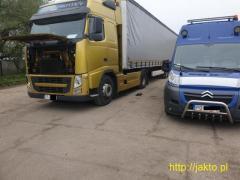 Mobilny serwis i naprawa samochodów ciężarowych, maszyn budowlanych