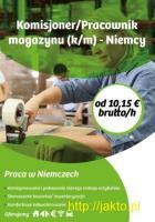 Komisjoner/Pracownik magazynu (k/m) - Niemcy