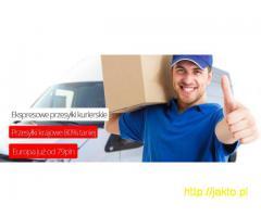 Paczki krajowe, zagraniczne, transport palet