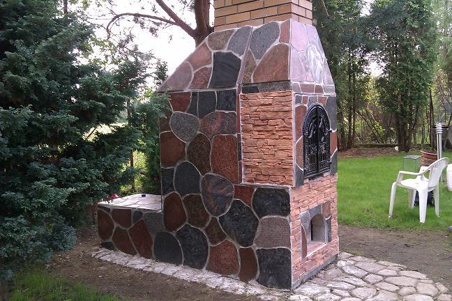Kamień polny obróbka GRANIT
