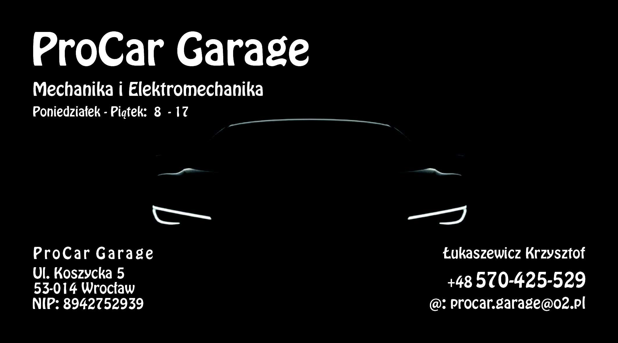 ProCar Garage - AutoSerwis