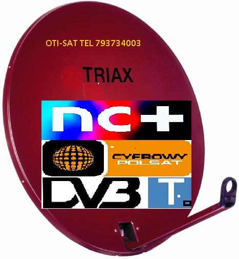 Strzelin Montaże Anten Satelitarnych Tv Tel 793734003