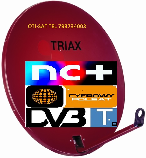 Sobótka Montaże Anten Satelitarnych Tv Tel 793734003