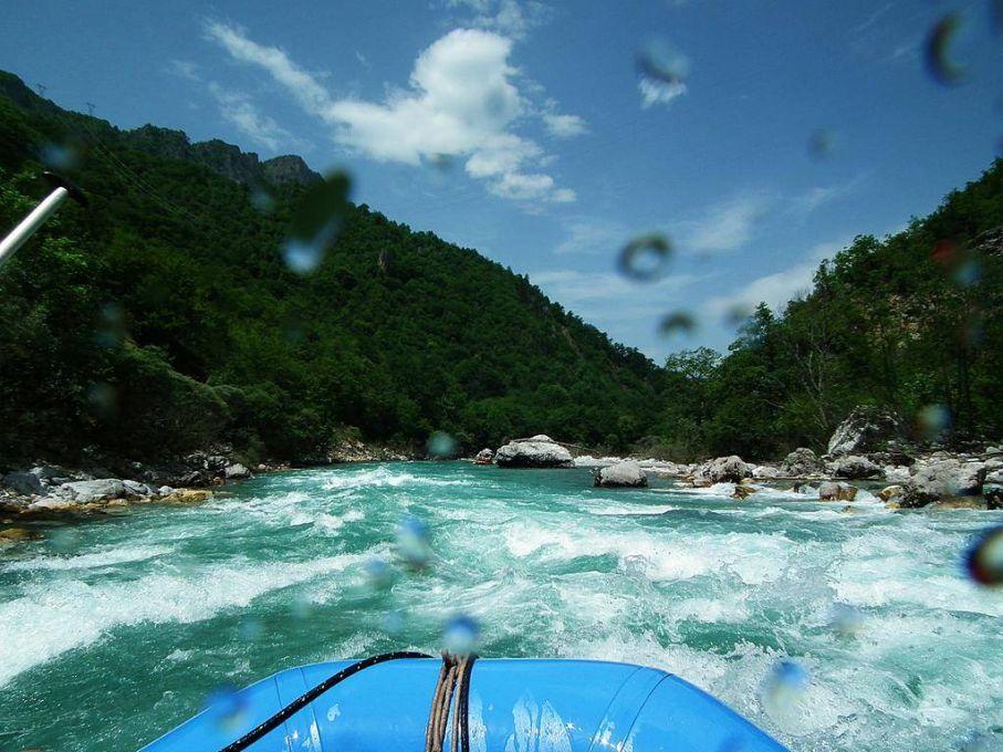 Rafting w Czarnogórze