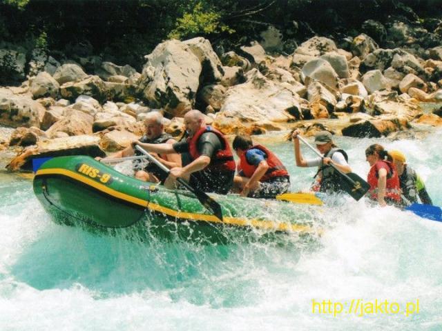 Rafting w Czarnogórze - 6/8