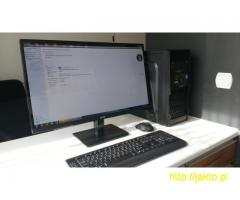 "Stacja graficzna - KOMPUTER PC I7 4930K 16GB RAM + Monitor 27"" HIT !!"