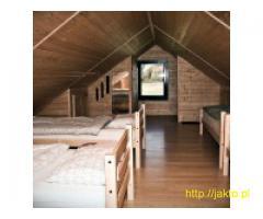 Domek ze stawem dla 11 osób - Bieszczady