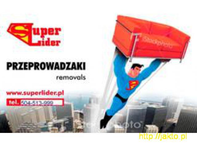 Super Lider PRZEPROWADZKI - 1/4