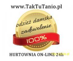 TakTuTanio - hurtownia online modna odzież damska