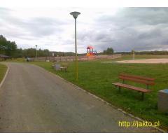 Pole namiotowe w Radęcinie