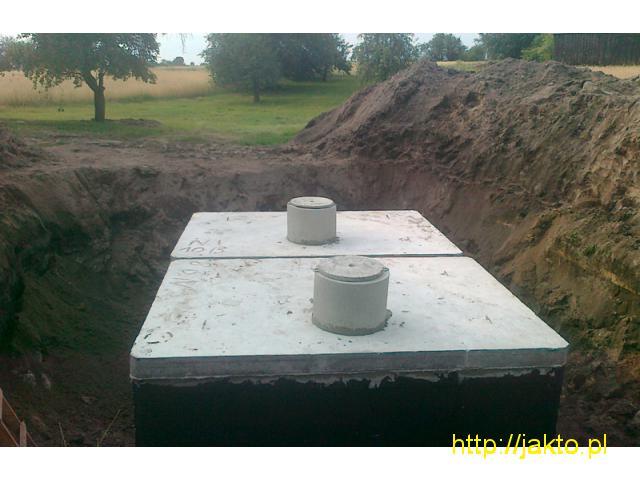 Szamba betonowe, studnie, 5 lat gwarancji, kompletna dokumentacja PZH, ITB, ISO. - 1/2