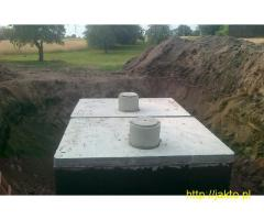 Szamba betonowe, studnie, 5 lat gwarancji, kompletna dokumentacja PZH, ITB, ISO.