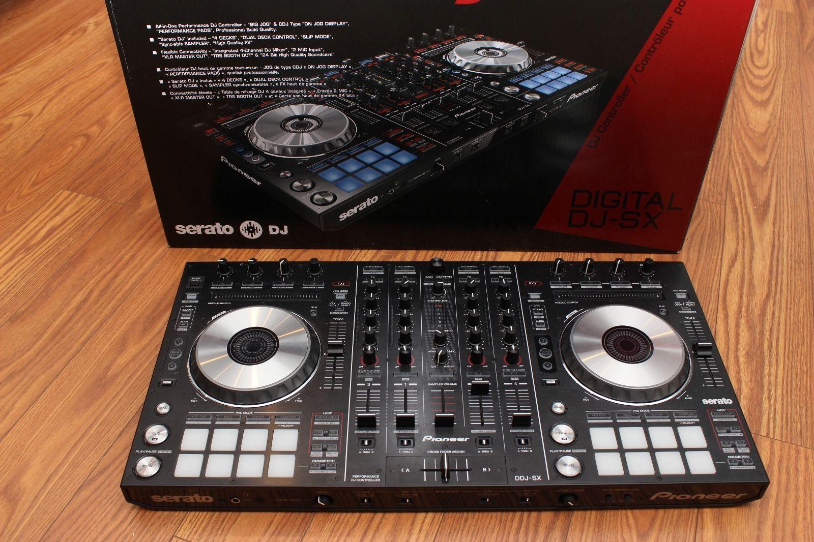Sprzedaż Pioneer DDJ-SX Serato DJ Controller...450€/Pioneer DDJ SX2....600€