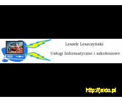 Usługi informatyczne, sprzedaż, serwis, odzyskiwanie danych.