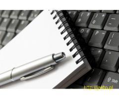 Przepisywanie tekstów z audio, video na pliki pdf, doc, html i inne