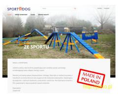 Agility - sprzęt sportowy dla psów.