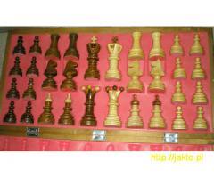 Szachy drewniane sprzedam