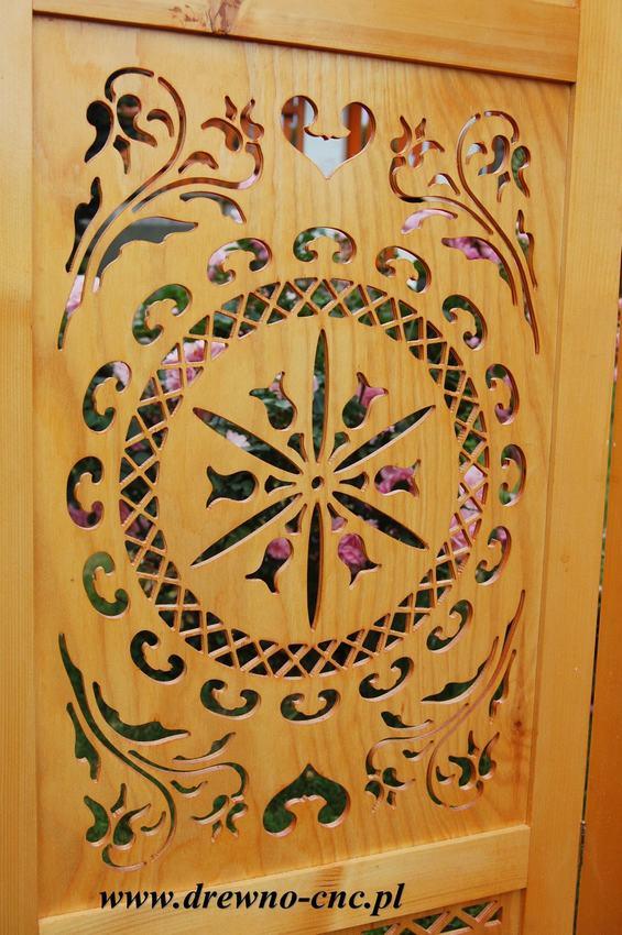 parawan drewniany dekoracyjny