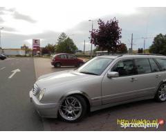sprzedam mercedesa e klase 2000 w210 siedmio osobowego