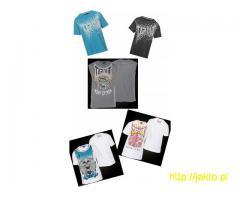 T-shirt EVERLAST TAPOUT NO FEAR KICKERS + GRATIS Nowe oryginalne ponad 40 wzorów