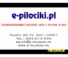 Piloty do telewizorów, satelit i dekoderów DVB-T