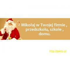 Odwiedziny Świętego Mikołaja / Gwiazdora - woj lubuskie