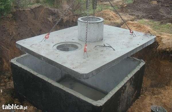 szamba betonowe z atestami, transportem, montażem, gwarancją