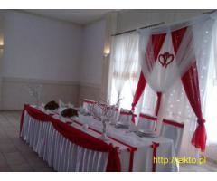 Profesjonalne dekoracje ślubne, komunijne,karnawałowe, 18-stek