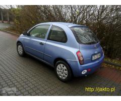 sprzedam nissan micra k12 nowy model 2003 GAZ