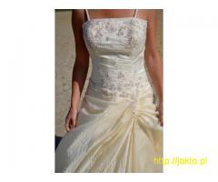 Przepiękna suknia śłubna