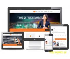 Kreator stron WWW do samodzielnego stworzenia strony internetowej.