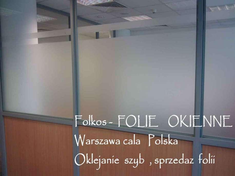 Folie okienne MATOWE- mleczne, satynowe, mrożone- Folie Okienne Warszawa