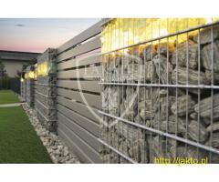 Nowoczesne ogrodzenia ! Aluminium,Gabiony! Cała Polska