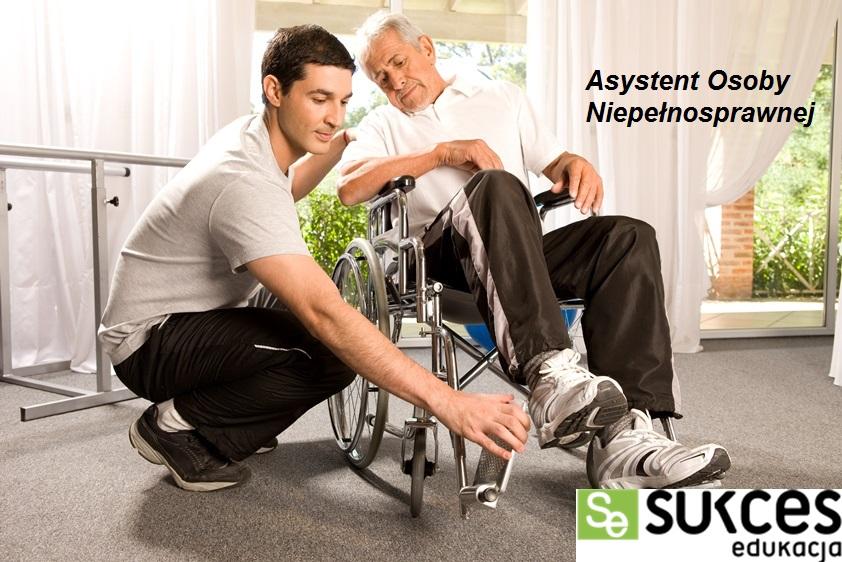 Asystent osoby niepełnosprawnej  - BEZPŁATNA NAUKA - 0 ZŁ