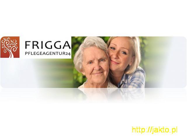 FRIGGA: Poszukujemy opiekunki do starszej pani/start 03.01/085PM