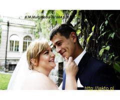 Wideofilmowanie z użyciem DRONA-Fotografia ślubna