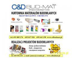 Hurtownia Materiałów Budowlanych C&D BUD-MAT, materiały od A do Z.