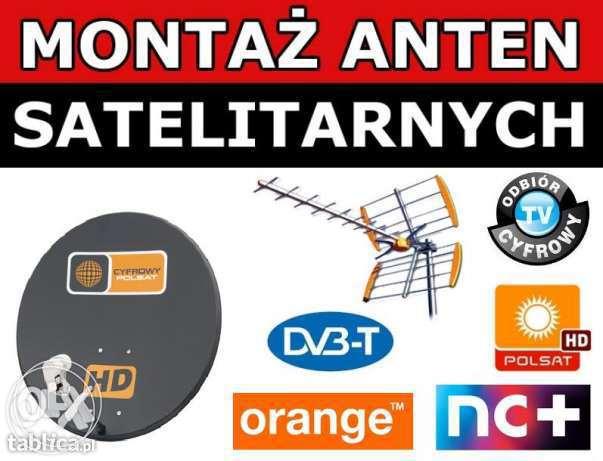 Montaż anten satelitarnych, Dvb-T. Ustawienie sygnału.