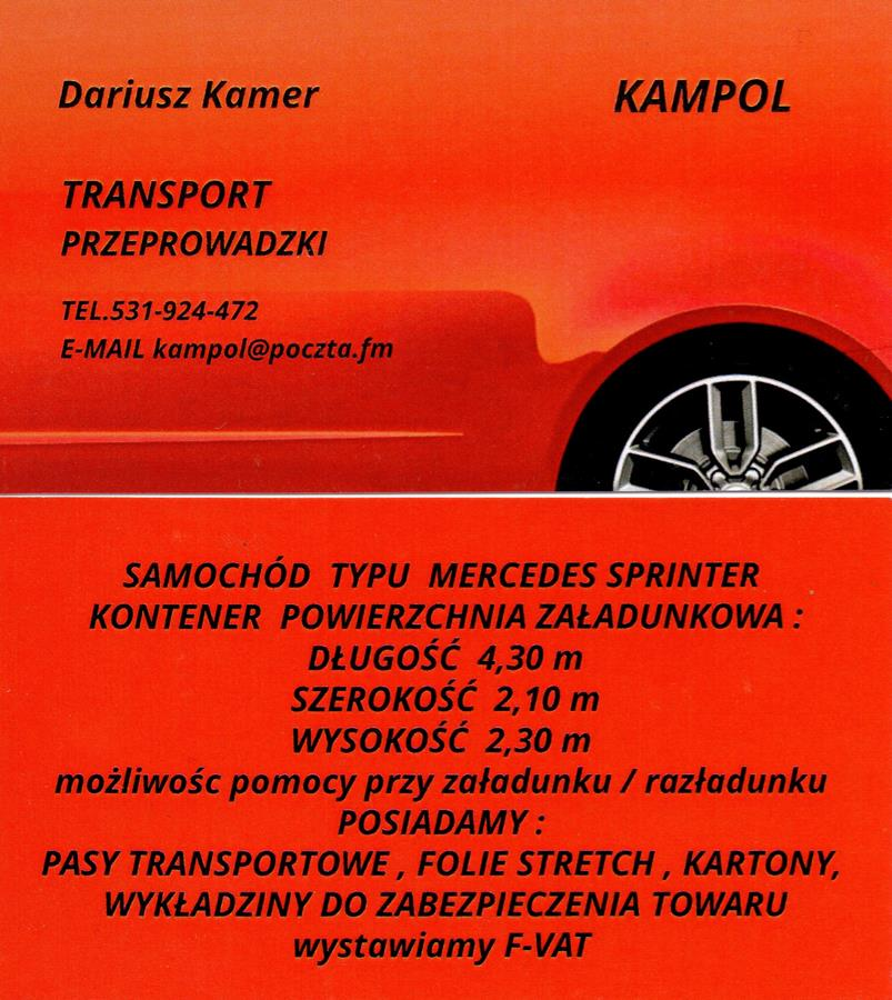 Największy BUS Tani Transport Wrocław i okolice. Przeprowad