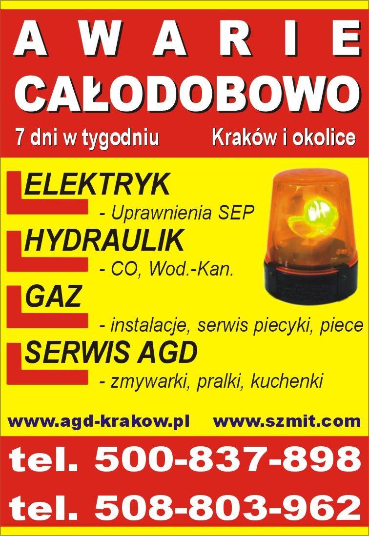 Hydraulik, spawacz Kraków tel. 508-803-962