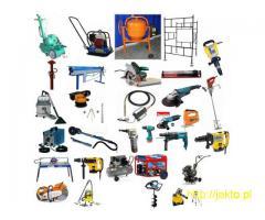 Wypożyczalnia elektronarzędzi. Wynajem maszyn i narzędzi budowlanych.