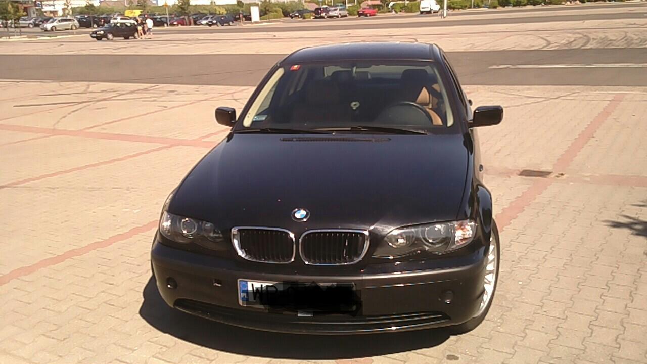 BMW318 2,0 143km po lifcie