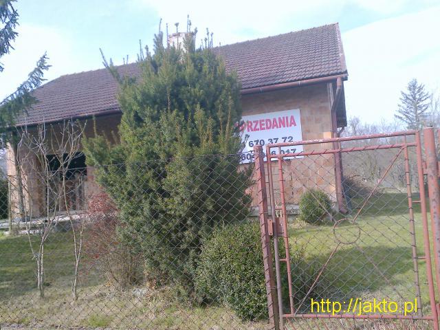 Dom w stanie surowym do sprzedania