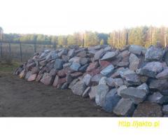 Kamień polny tłuczony- murowanie/ CAŁA POLSKA
