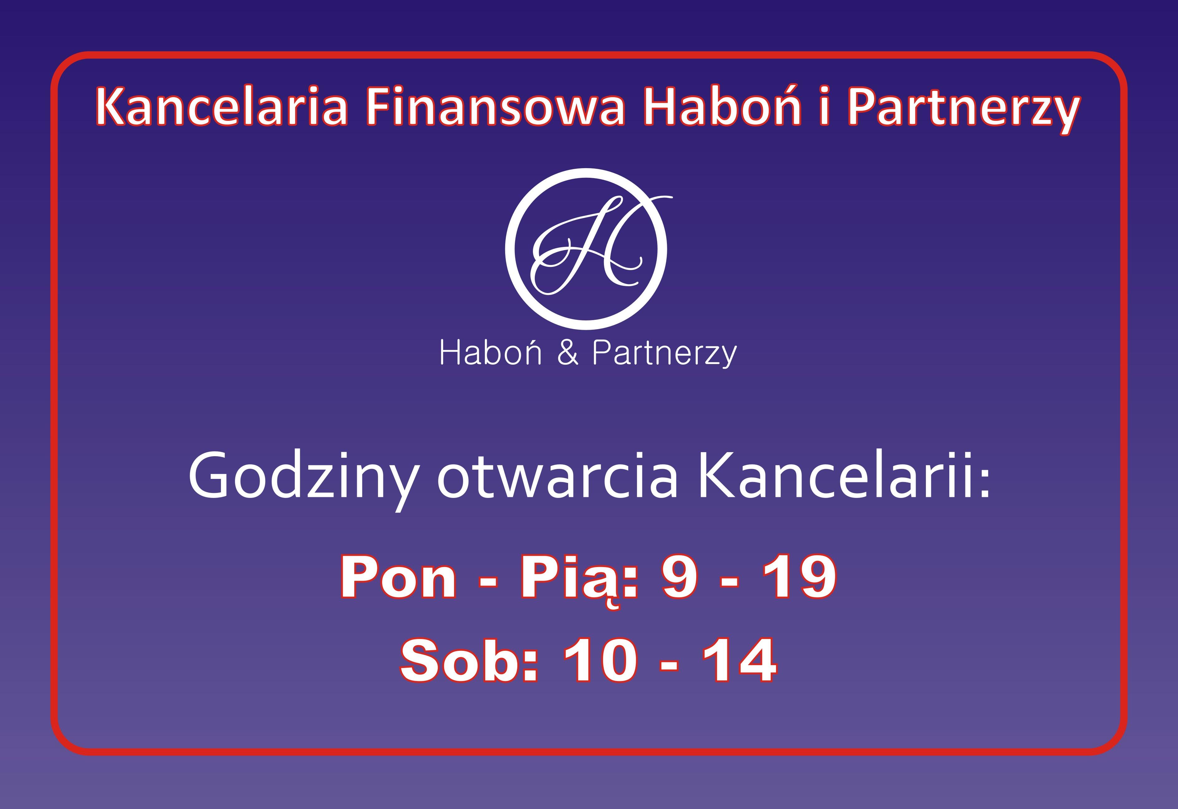 KANCELARIA FINANSOWA HABOŃ & PARTNERZY