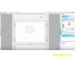 Urządzenie wycinająco-tłocząco-rysujące Silhouette Curio- zaproszenia, grafika artystyczna...