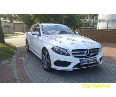 Auto do ślubu, Nowy Mercedes C 2015 r Pakiet AMG WYNAJEM