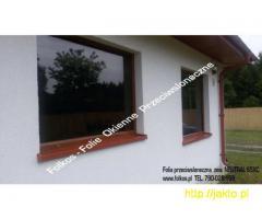 Folia zewnetrzna przeciwsłoneczna na okna NEUTRAL 65XC -Folkos folie okienne