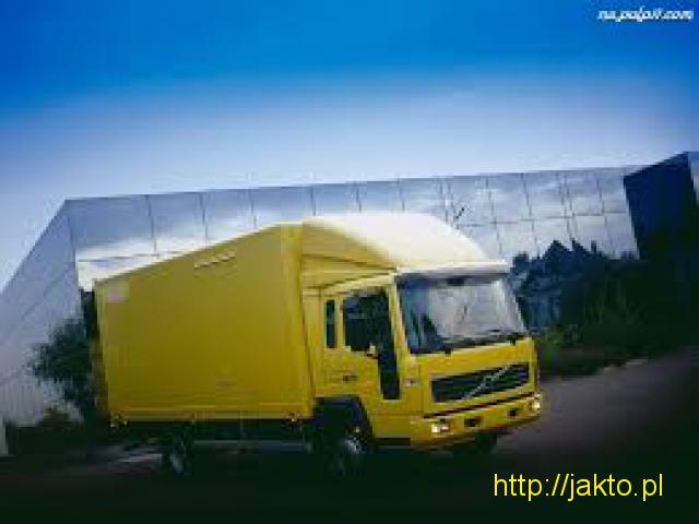 Przeprowadzki , transport rzeczy Polska woj.Opolskie - Holandia,Niemcy,Belgia,Austria